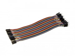 20cm 40 Pin Male to Male Breadboard Jumper Wires Ribbon Cable