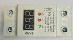 63A 230V Self Protection Relay LCD Monitor