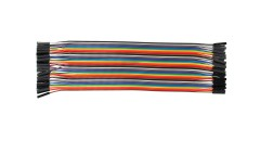 20cm 40 Pin Female to Female Breadboard Jumper Wires Ribbon Cable