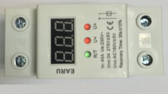 40A 220V Self Protection Relay LCD Monitor