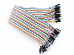 20cm 40 Pin Male to Female Breadboard Jumper Wires Ribbon Cable