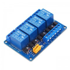 4 channels relay isolation module