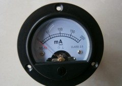 DC ammeter SO-45/100MA