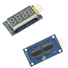 74HC595 drive 4 digital tube module