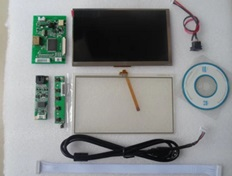 7 inch HDMI PAL/NTSC 1024X600 touch panel Raspberry 3/B+