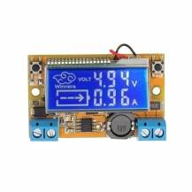 Adjustable Power Module with Voltmeter and Ammeter