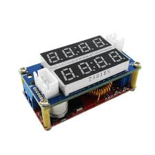 5A Constant Current/Voltage LED Driver Battery Charging Module Voltmeter Ammeter TK1210
