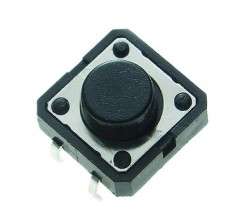 Tact switch 12x12mm h=12.0mm