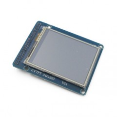 2.8-inch TFT LCD touch screen with color touch
