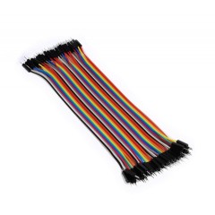 200mm 40 Pins Male Male Splittable Dupont Breadboard Jumper Wires For Arduino