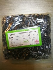 Electrolytic Capacitors 100uf 63V