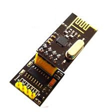 51 single-chip wireless communication TTL serial port to nRF24L01+ module adapter board does not contain 24L01 module