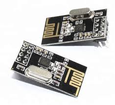 Black NRF24L01 wireless module