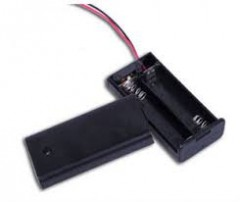 2 section DC Head Battery size AA