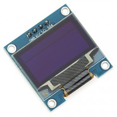 0.96 inch white 128*64 OLED LCD display module