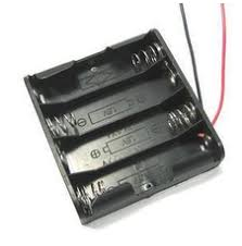 4 section DC Head Battery with no cover switch battery box