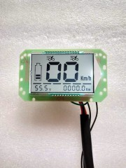 LCD instrument power display