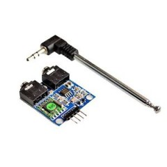 TEA5767 FM Stereo Radio Module for Arduino 76-108MHZ With Free Cable Antenna