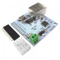 8-way W5100 network control switch 5 volt network relay module